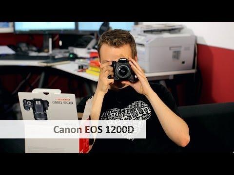 Canon EOS 1200D – Canons neue Einsteiger-DSLR im Unboxing [Deutsch]
