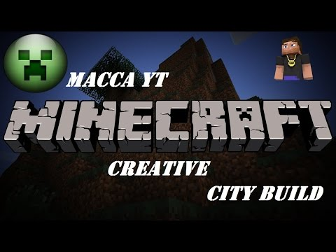 MineCraft Creative Live – The City Build – Starting The Hotel – Ps4 Livestream