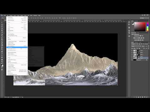 Planetscape compositing landscape part 1 of 3