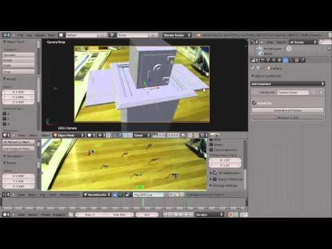 Compositing and Camera Tracking in Blender: Hidden Safe — Part 02