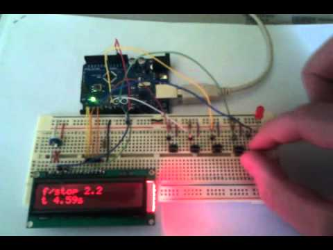 f/stop timer prototyp