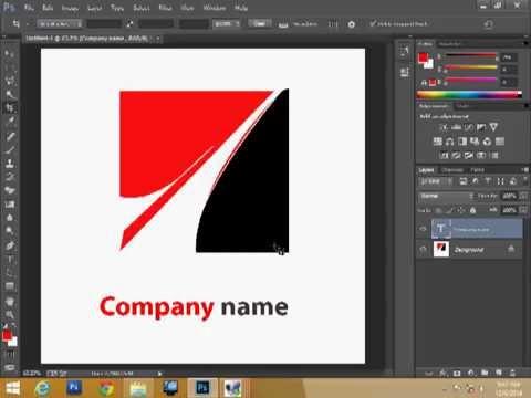 company logo design in photoshop