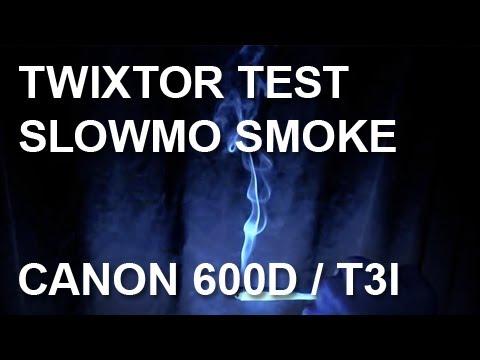 Slow Motion Smoke HD | Twixtor After Effects CS5 Test | Canon 600D Rebel T3i | FPS Tweak