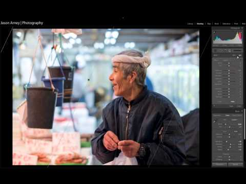 Lightroom Tutorial – Street Photography at Ameyoko in Tokyo, Japan