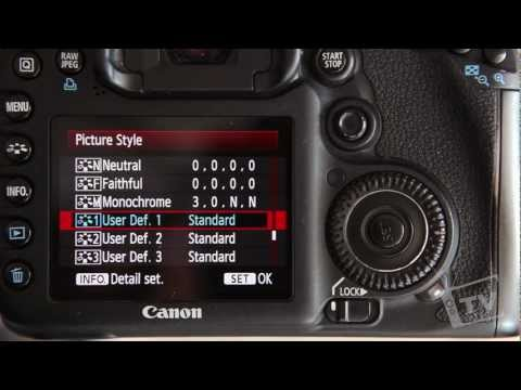 How to Setup your DSLR to Film (Picture Style)