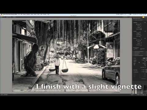 Black and White Street Photography Workflow – Hanoi