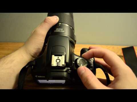 Canon EOS Rebel T3 Tutorial Part 1 of 2