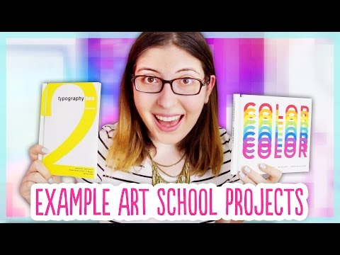All of My RISD Projects! – Example Graphic Design Work from Art School