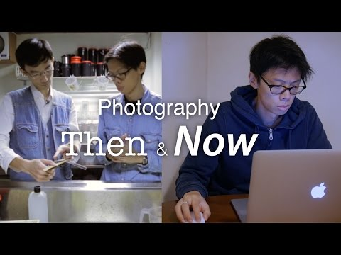 Photography Then & Now – 90s vs Now