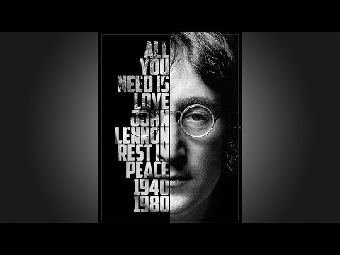 Photoshop: Create a Powerful, Text Portrait Poster