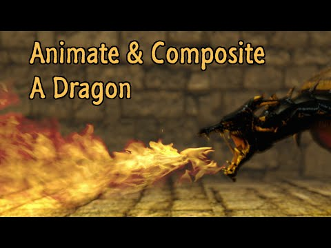 Blender – Animating and Compositing a Dragon Part 2