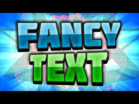 [TUTORIAL] How to make Fancy TEXT in Photoshop – Blending Options and Layer Styles