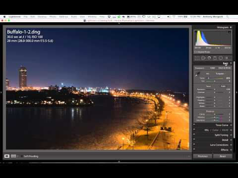 Lightroom Quick Tips – Episode 23: White Balance in Long Exposure Night Photography