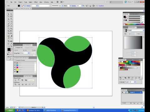 Adobe Illustrator CS5 Tutorial: How to create 3D logo – sample 4 [HD]