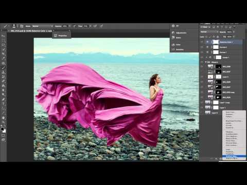Photoshop speed run ( compositing ) – Sarah Bowman
