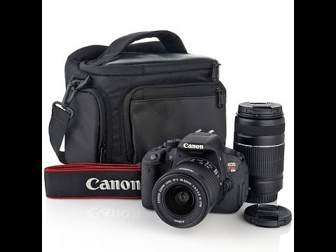 CANON T5 REBEL EOS DSLR CAMERA PICTURE / VIDEO QUALITY
