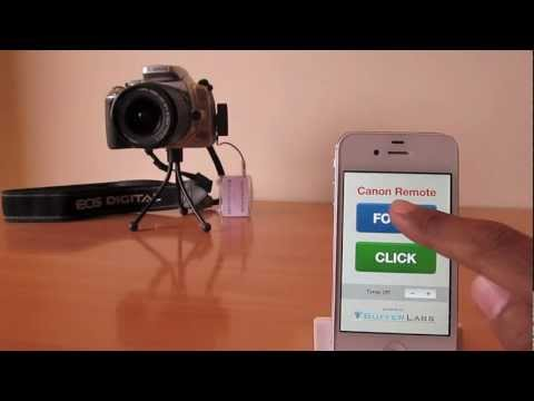 Canon DSLR – iPhone 4S – Bluetooth 4.0 Remote