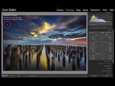 Lightroom – Edit a Long Exposure Landscape Image