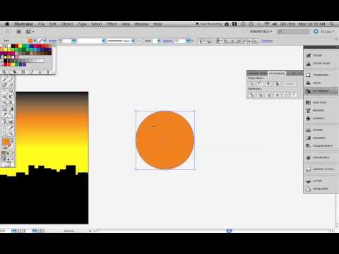 Sunsets and Horizons in Illustrator