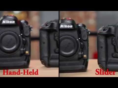 Quick Tip: Using a Slider for smooth DSLR Video