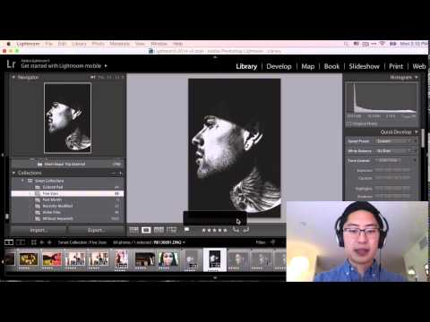 Introduction to Editing, Processing, and Workflow in Lightroom 5 for Street Photography