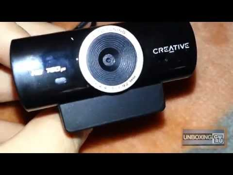 Creative Live! Cam Sync HD 720p Unboxing&Review