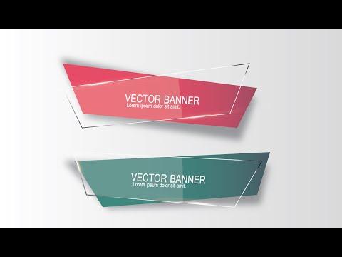 Illustrator Tutorial | Graphic Design | Vector Banner