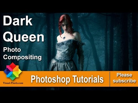 Photoshop: Dark Queen Photo Compositing – Merge Images