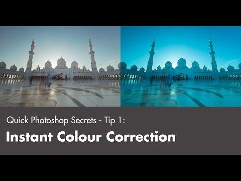 Quick Photoshop Secrets 1: Instant Colour Correction