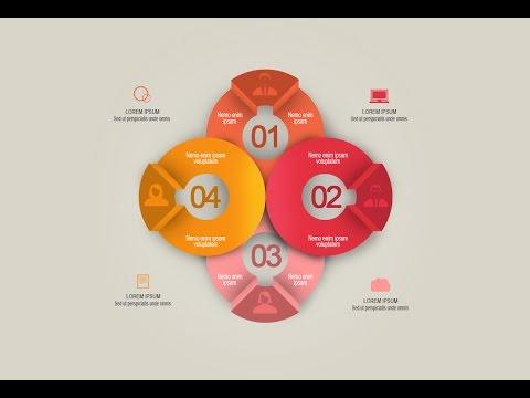 Photoshop Tutorial – Graphic Design Infographic Creative Round