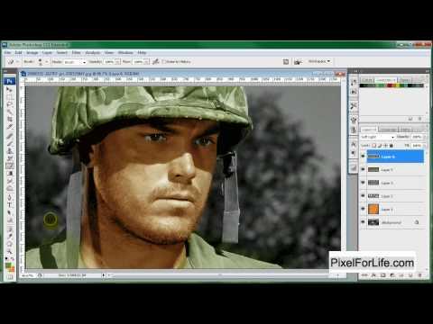 Photoshop Colorize Image