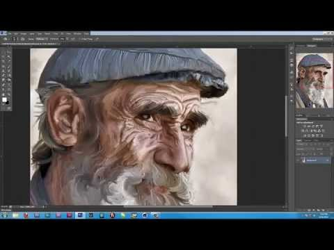 Photoshop Trick: Turn a Portrait Photo Into a Painting