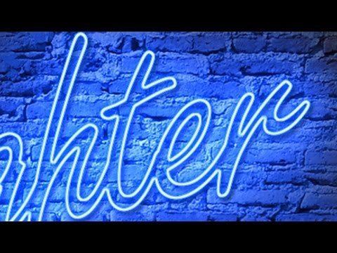 Photoshop: NEON!  How to Make a Custom, Neon Sign