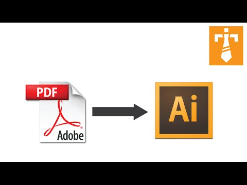 Illustrator Tutorial – How to edit a PDF