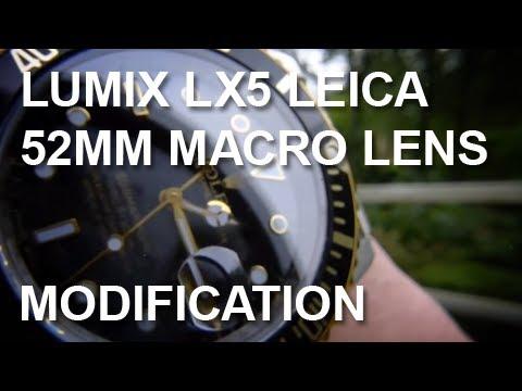 Lumix LX5 | Video Test Sample | Review Lens Adapter | Macro | Magic Bullet