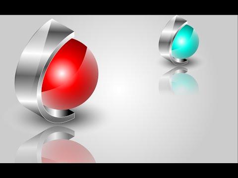 Tutorial :Simple 3D logo ( Illustrator CC)