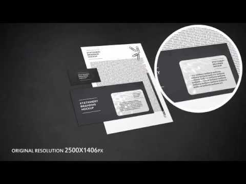 Video Corporate Identity Mockup