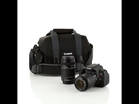 Canon Rebel T5i 18MP DSLR Camera Kit with 2 Lenses