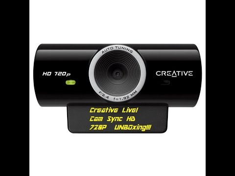 Creative Live! Cam Sync HD 720P Webcam – Unboxing