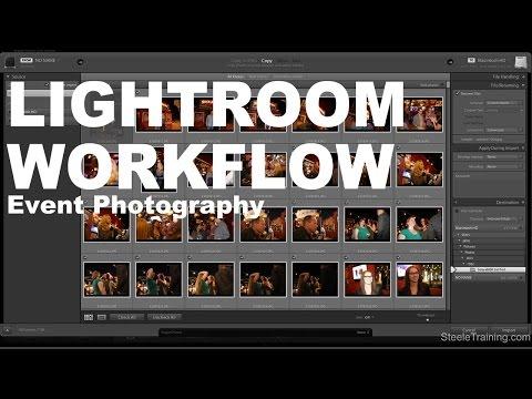 Lightroom Workflow: Event Photography