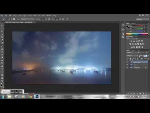 How to take and post process a night long exposure photo (in Bengali)