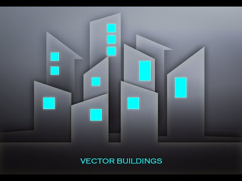 Photoshop Tutorial | Graphic Design | dark buildings