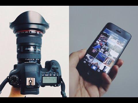 DSLR WiFi, VSCO Cam and Instagram Workflow