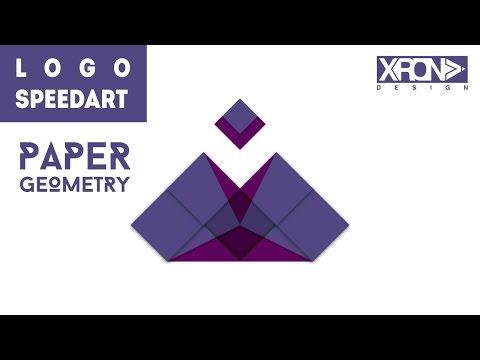 LOGO DESIGN – PAPER GEOMETRY LOGO