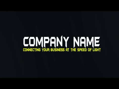 """2Me Creative Media And Design """"Light Flares with Company Name Reveal"""""""