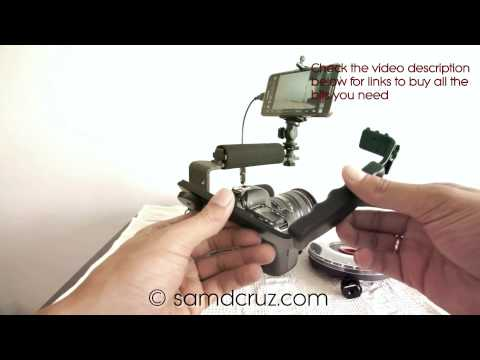 Canon 6D with Samsung Galaxy Note 3 as Video Monitor Screen Using DSLR Controller – Build Cheap Rig