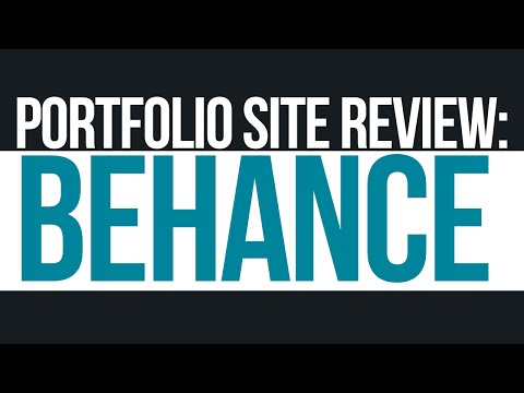 How to make a Behance Portfolio (Graphic Design Tutorials)