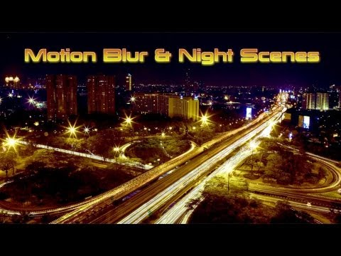 Macro Monday: Motion Blur  Night Scenes