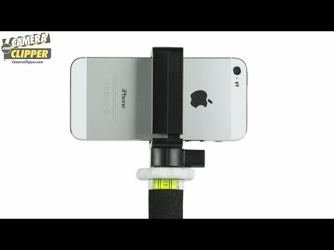 Camera Clipper for Smartphones, Action Cameras, Video Recorders and Digital Cameras