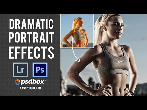 Dramatic Portrait Effects – Photoshop Tutorial